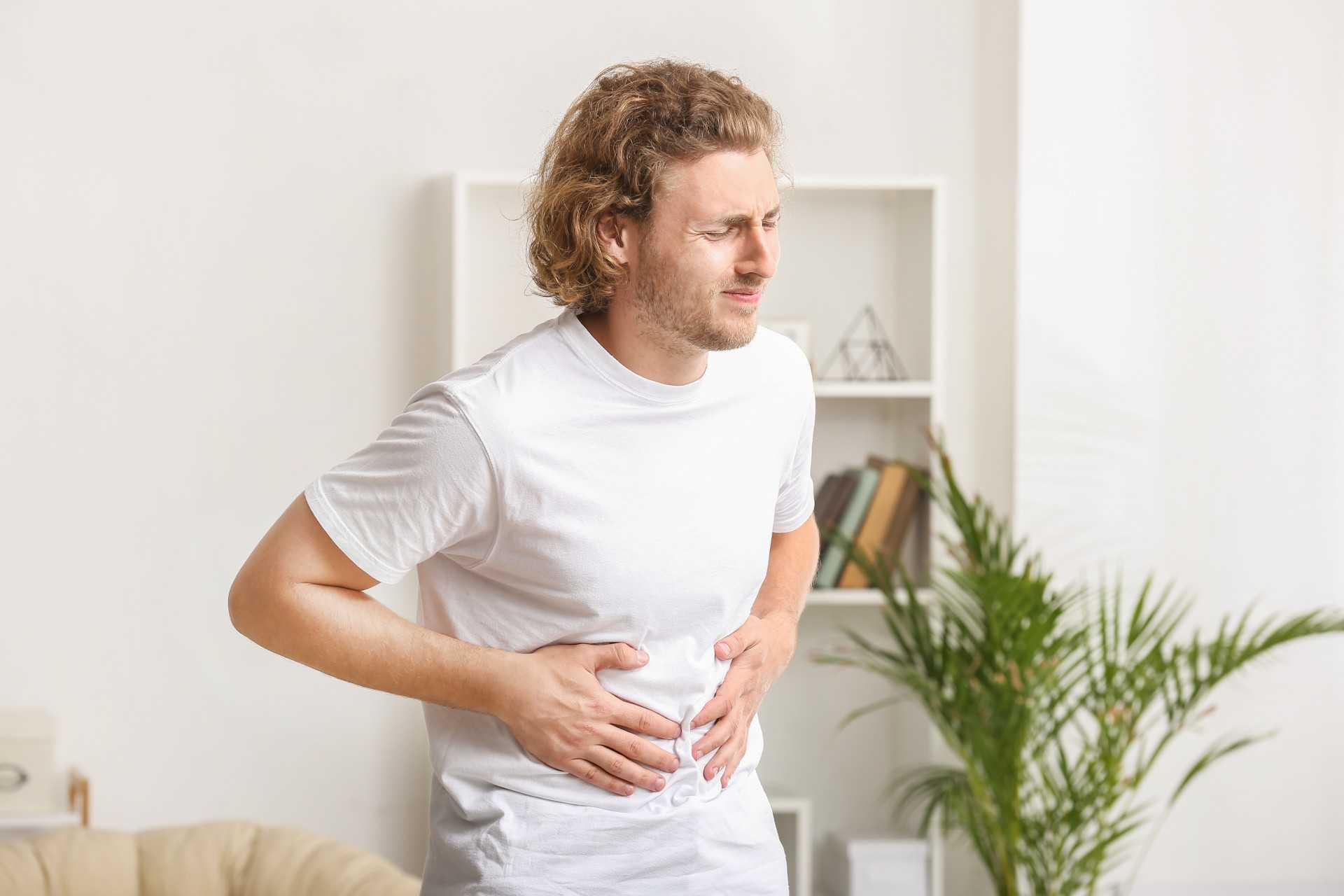 Kłujący ból brzucha